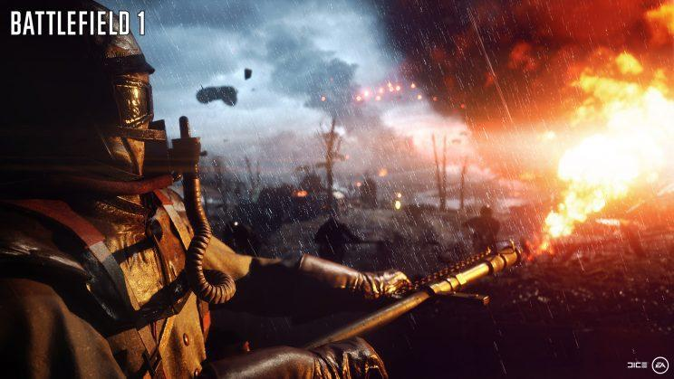 """The destruction and beauty of """"Battlefield 1""""."""