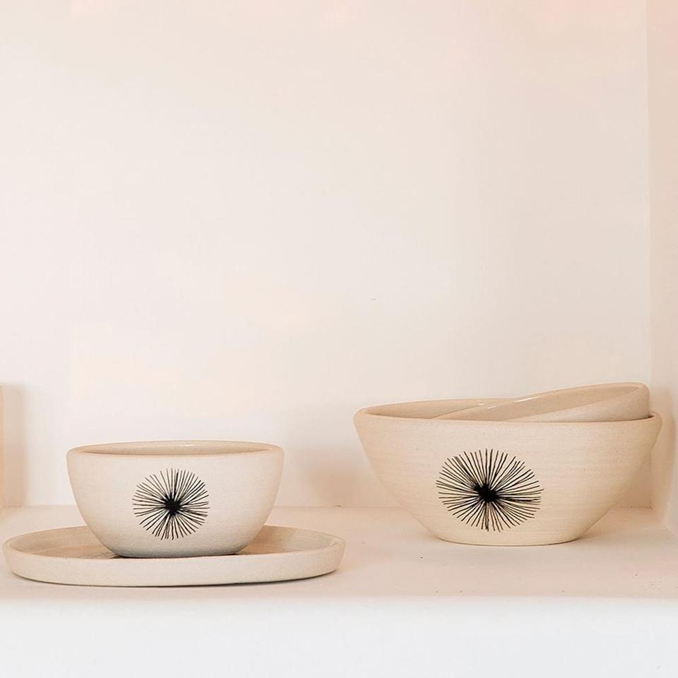 """<p>""""I just finished giving my kitchen a little makeover, and I'm ready to accessorize. These handmade <span>Yucca Little Korboose Nesting Bowls</span> ($255) are exactly the vibe I'm going for, and I love that they're by a smaller artisan but conveniently at West Elm."""" - DD</p>"""