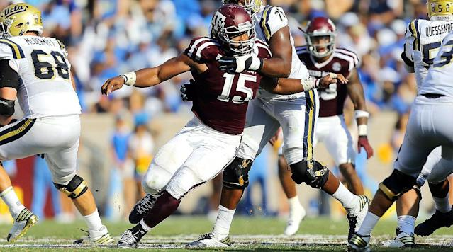 What you need to know: Over his three seasons at Texas A&M, Garrett averaged 15.7 tackles for loss and 10.3 sacks per year.