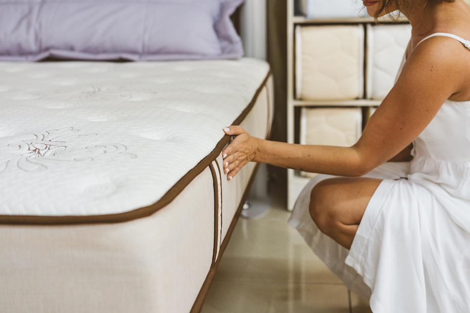 We found several of the best Prime Day mattress deals on Amazon. (Photo: Anastasiia Stiahailo via Getty Images)