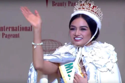 Kylie Verzosa won the crown in 2016