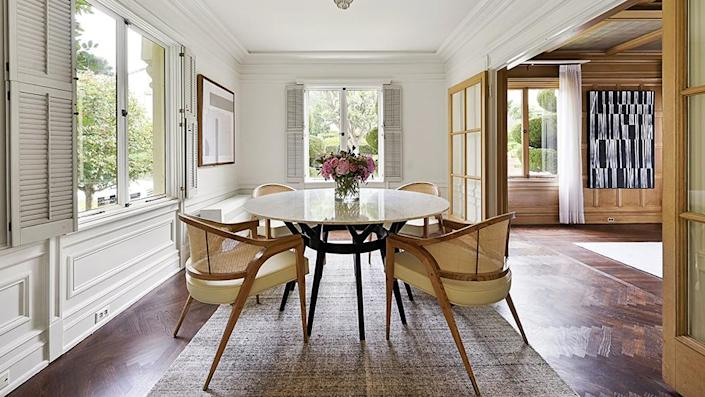 A casual dining area. - Credit: Photo: Courtesy of Lunghi Media Group for Sotheby's International Realty