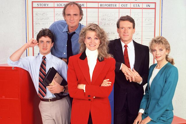 The original cast of <em>Murphy Brown.</em> (Photo: CBS)