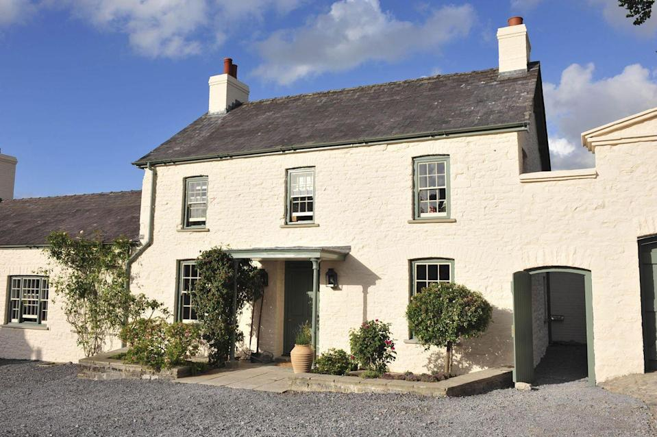 """<p>Located in Llandovery, Wales, <a href=""""https://www.princeofwales.gov.uk/biographies/royal-residences"""" rel=""""nofollow noopener"""" target=""""_blank"""" data-ylk=""""slk:Llwynywermod"""" class=""""link rapid-noclick-resp"""">Llwynywermod</a> is the Welsh home of Prince Charles and Camilla Parker Bowles. The couple often stays at the property in the summer during their annual tour of Wales. The 215-acre estate was refurbished in 2007 by local Welsh craftsmen and features energy-efficient appliances, low-energy lighting, and natural sheep's wool insulation.</p>"""
