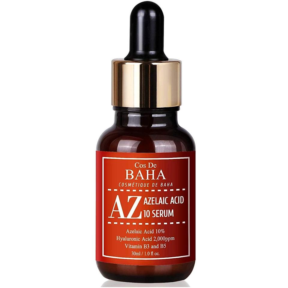 <p>The <span>Cos de Baha Azelaic Acid 10% Serum With Niacinamide</span> ($13) is an affordable choice with superstar ingredients such as niacinamide and hyaluronic acid.</p>