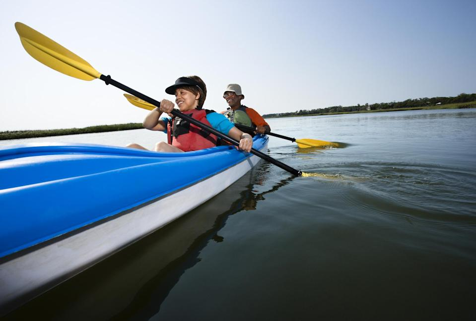 "<div class=""caption-credit"">Photo by: Thinkstock</div><b>5. Sacramento, CA</b> <br> Nicknamed the River City, because it's where the Sacramento River and the American River meet, Sacramento attracts a ton of white water rafters and kayakers. For land-lovers, California's state capital features over 5,000 acres of parks, giving residents plenty of opportunities for outdoor sports, hiking, walking and biking. <br>"
