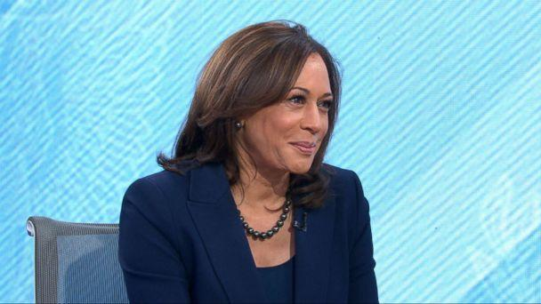 PHOTO: Kamala Harris appears on 'Good Morning America,' Jan. 21, 2019. (ABC News)