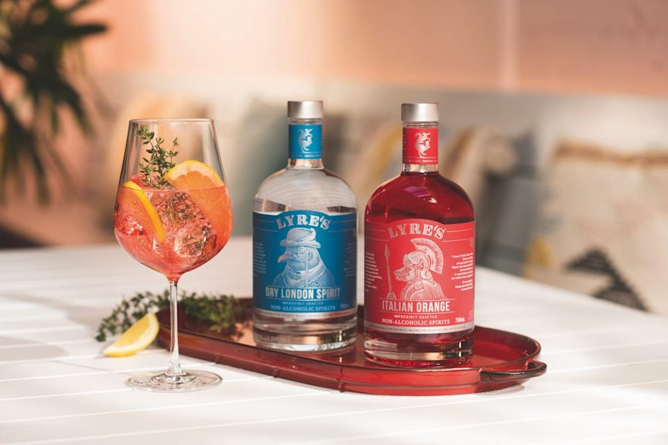 Lyre's Dry London Spirit & Italian Orange (PHOTO: Lyre's)