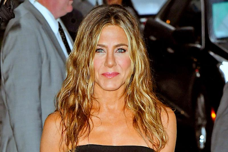 Jennifer Aniston Brings 90s Style To The 2020 Emmys In A Slip Dress Barely There Sandals