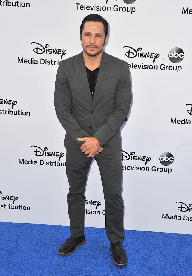 BURBANK, CA - MAY 19:  Actor Nick Wechsler arrives at the Disney Media Networks International Upfronts at Walt Disney Studios on May 19, 2013 in Burbank, California.  (Photo by Angela Weiss/Getty Images)