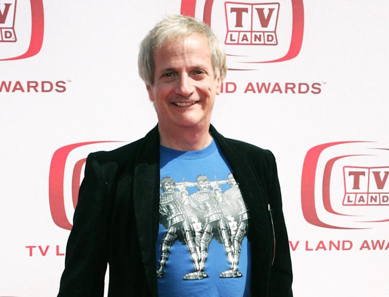 """FILE - This June 8, 2008 file photo shows actor Ron Palillo at the TV Land Awards in Santa Monica, Calif. Palillo, best known as the nerdy high schooler Arnold Horshack on """"Welcome Back, Kotter,"""" died Tuesday, Aug. 14, 2012, in Palm Beach Gardens, Fla., of an apparent heart attack. He was 63. (AP Photo/Mark Mainz, file)"""