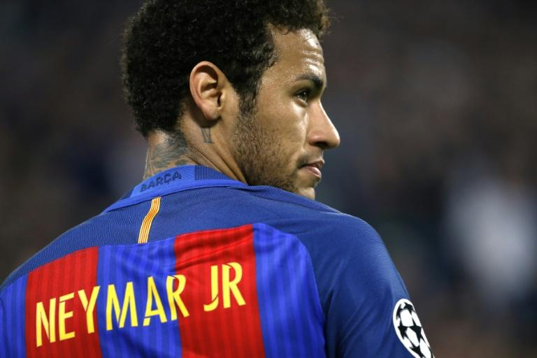 Barcelona's Brazilian forward Neymar pictured during the Champions League quarter-final first leg against Juventus on April 11, 2017