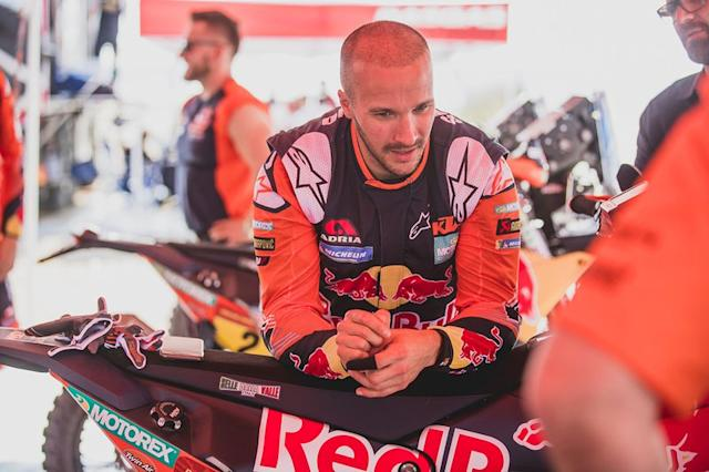"#3 Red Bull KTM Factory Racing: Sam Sunderland <span class=""copyright"">Red Bull Content Pool</span>"