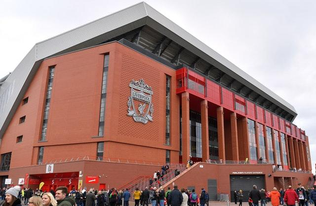 Anfield is being used for the first time for a women's game as it hosts a Merseyside derby with Everton . (Dave Howarth/PA)