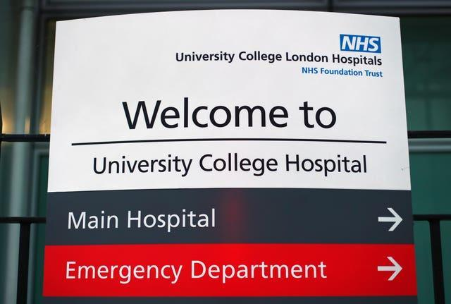 University College Hospital in London.
