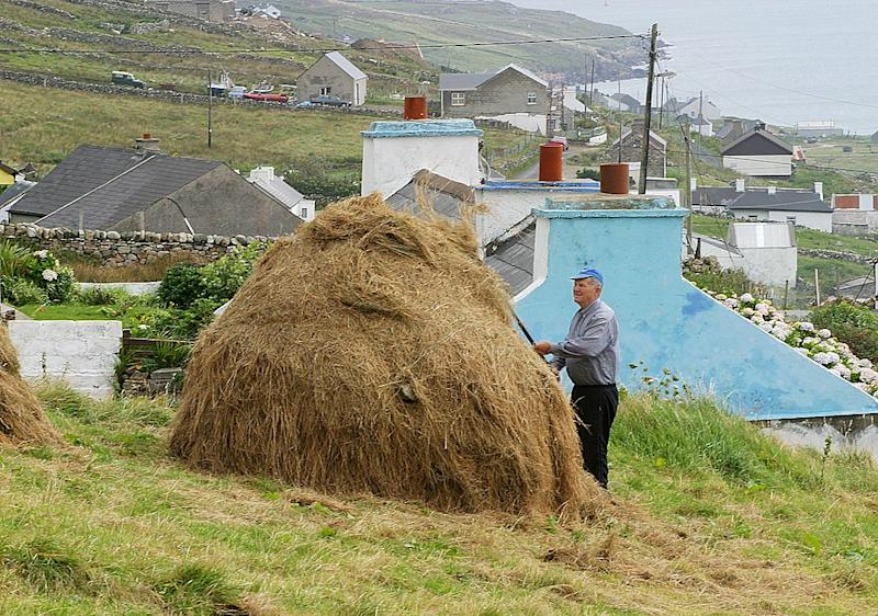 Arranmore Island, Ireland in 2004. Source: Getty