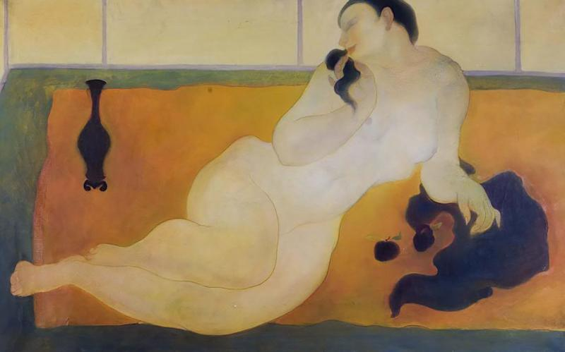 Reclining nude, circa 1936, oil on canvas