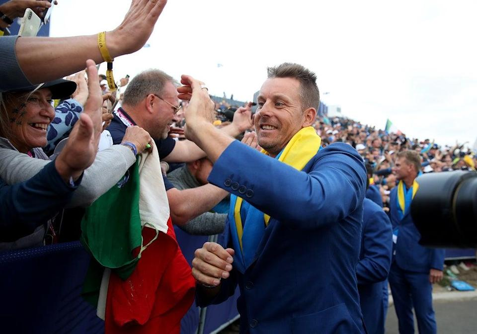 Henrik Stenson, who was part of the winning team in Paris, has been named a vice-captain for the 2020 Ryder Cup (Adam Davy/PA) (PA Archive)
