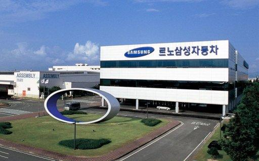The Renault-Samsung Motors automobile assembly plant in the southern port city of Busan