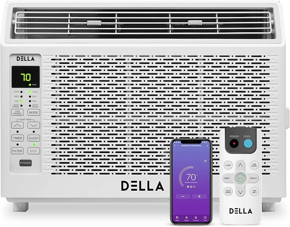 <p>The thing about the <span>Della 6000 BTU Energy Star Window Air Conditioner</span> ($310, originally $350) is that it's super smart. You can control the unit easily from your smartphone, or hook it up to Amazon Alexa to cool down using just your voice. </p>