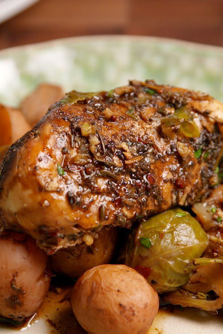 """<p>Soon to be a regular at your dinner table.</p><p>Get the <a href=""""https://www.delish.com/uk/cooking/recipes/a29468829/slow-cooker-balsamic-chicken-recipe/"""" rel=""""nofollow noopener"""" target=""""_blank"""" data-ylk=""""slk:Slow Cooker Balsamic Chicken"""" class=""""link rapid-noclick-resp"""">Slow Cooker Balsamic Chicken</a> recipe.</p>"""