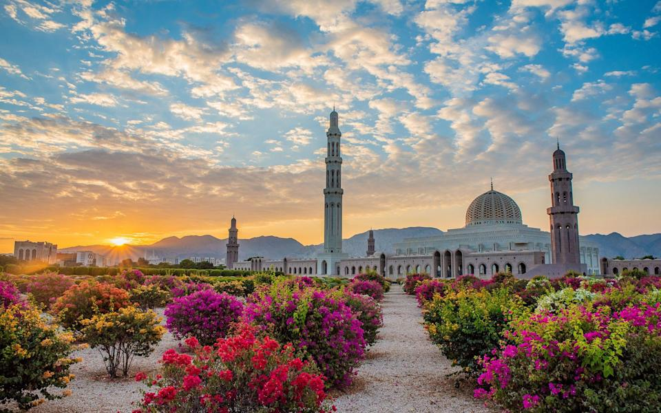 Grand Mosque in Muscat - Gopal Sutar/iStockphoto