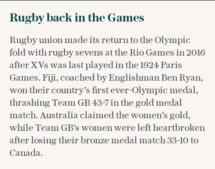 Rugby back in the Games
