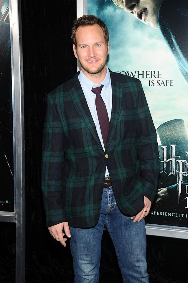 """<a href=""""http://movies.yahoo.com/movie/contributor/1804501534"""">Patrick Wilson</a> attends the New York premiere of <a href=""""http://movies.yahoo.com/movie/1810004780/info"""">Harry Potter and the Deathly Hallows - Part 1</a> on November 15, 2010."""
