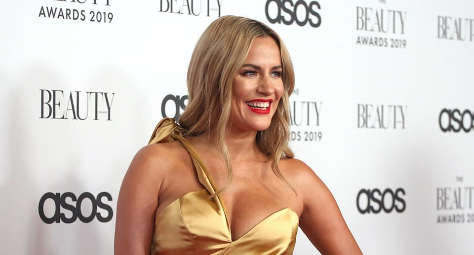Laura Whitmore wants to do the late Caroline Flack, pictured, proud. (Photo by Lia Toby/Getty Images)