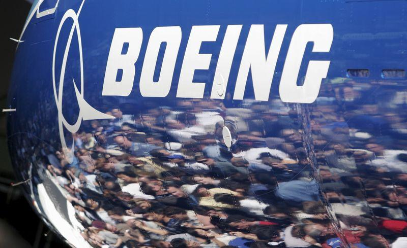 File photo of fuselage of a Boeing 787 in Everett