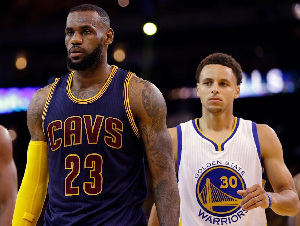 For the first time since 2010, the NBA's conference finals will not include teams led by LeBron James or Stephen Curry.