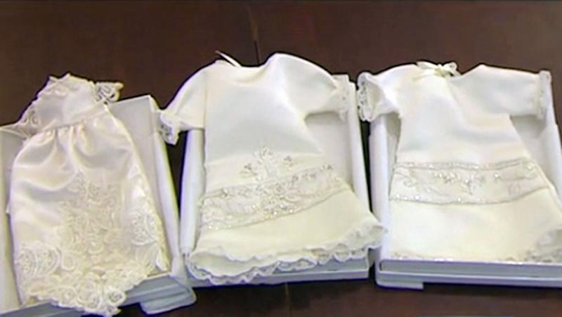Wedding dresses turned into \'angel gowns\' for deceased babies