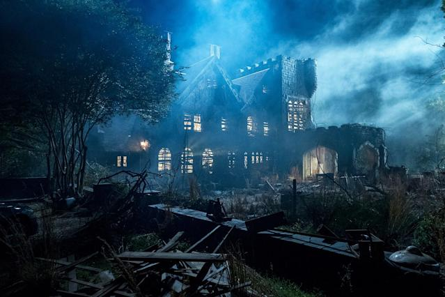 A still from <em>The Haunting of Hill House</em>. (Netflix)