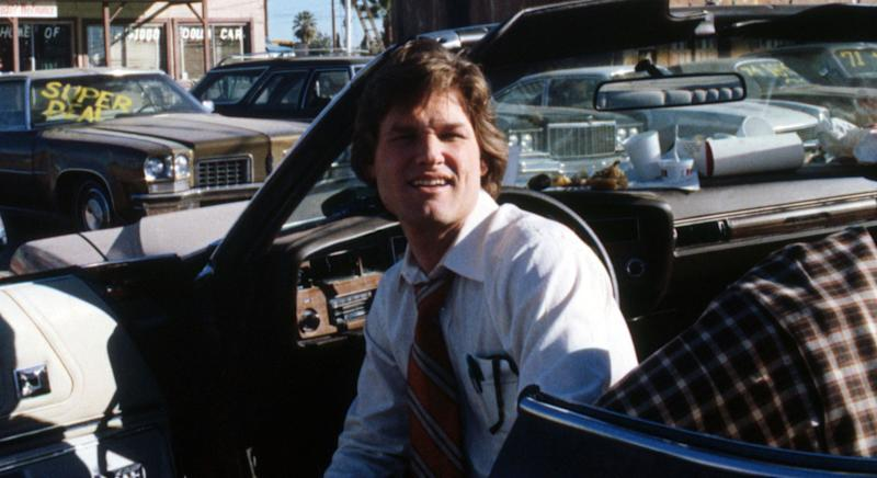 Kurt Russell played devious salesman Rudy Russo in Bob Zemeckis' 1980 satire 'Used Cars' (Rex Features)