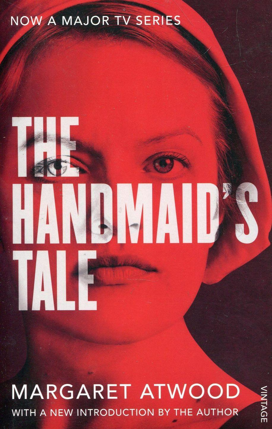 "<p>Now an award-winning TV series starring Elizabeth Moss, The Handmaid's Tale tells the story of Offred, a handmaid in a totalitarian state. </p><p><a class=""link rapid-noclick-resp"" href=""https://www.amazon.co.uk/Handmaids-Tale-Vintage-Classics/dp/1784873187/ref=sr_1_1?crid=3FKGBALQ6MQFJ&dchild=1&keywords=handmaids+tale&qid=1586947161&sprefix=handmaid%2Caps%2C193&sr=8-1&tag=hearstuk-yahoo-21&ascsubtag=%5Bartid%7C1921.g.32141605%5Bsrc%7Cyahoo-uk"" rel=""nofollow noopener"" target=""_blank"" data-ylk=""slk:SHOP NOW"">SHOP NOW </a></p>"