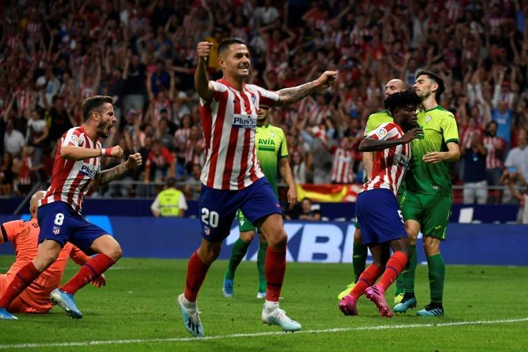 Atletico are top of the early La Liga table (AFP Photo/PIERRE-PHILIPPE MARCOU)