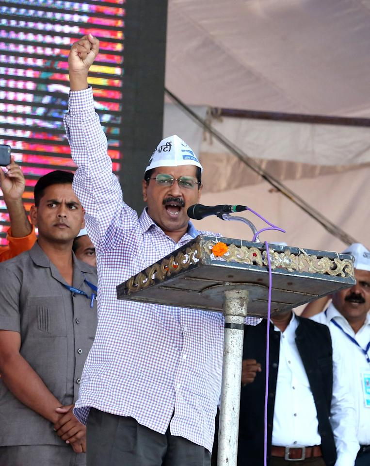 <p><strong>#10.</strong> Arvind Kejriwal: Under him, AAP finished second in the Punjab polls. In the latter half of the year, the Delhi CM broke his months-long silence as the air pollution situation in the capital spiraled beyond control. </p>