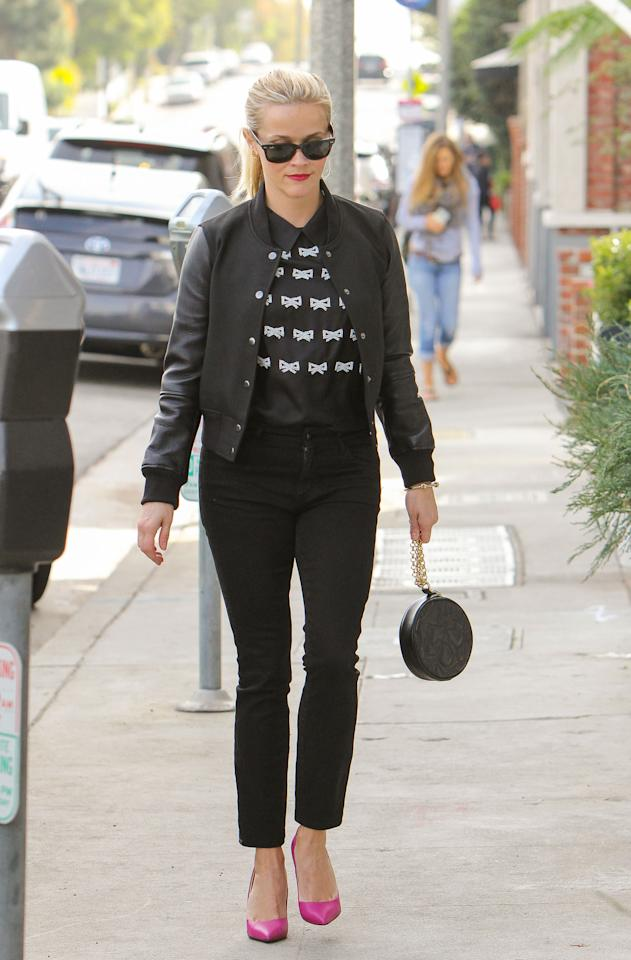 Reese Witherspoon Wears Ridic Expensive Draper James Top