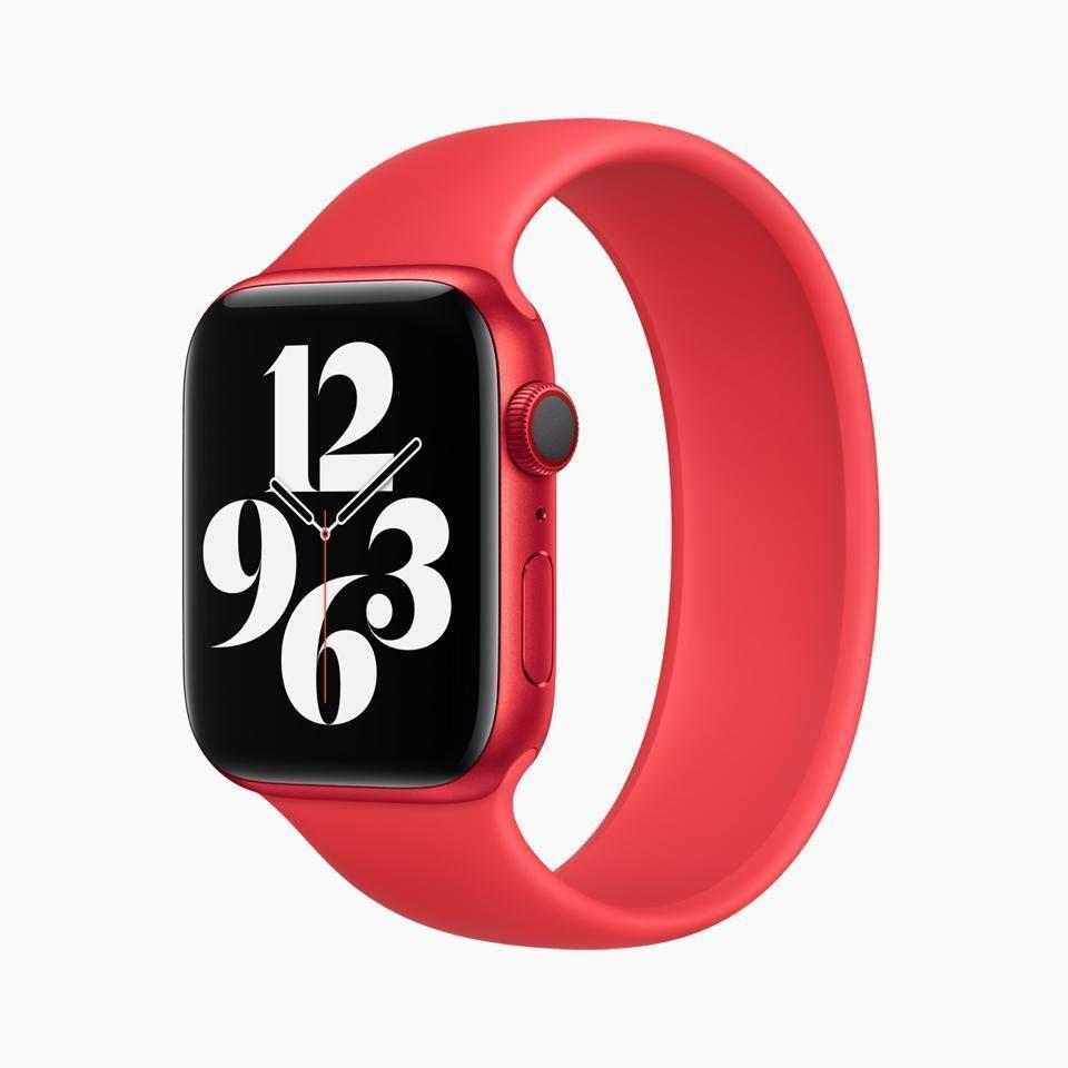 """<p><strong>Apple</strong></p><p>amazon.com</p><p><a href=""""https://www.amazon.com/dp/B08J5RBMRN?tag=syn-yahoo-20&ascsubtag=%5Bartid%7C10056.g.36788447%5Bsrc%7Cyahoo-us"""" rel=""""nofollow noopener"""" target=""""_blank"""" data-ylk=""""slk:Shop Now"""" class=""""link rapid-noclick-resp"""">Shop Now</a></p><p><del>$399.00</del> $319.99 <strong>(20% off)</strong></p><p>The latest Apple watch means serious business. This model can keep track of your blood oxygen levels, record all your workouts with the utmost accuracy, has a dazzling retina display, and can fire off text messages with just a quick tap or two. </p>"""