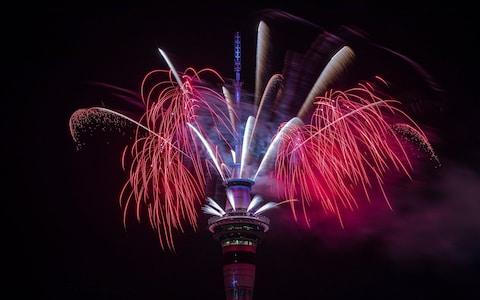 Fireworks in Auckland - Credit: Dave Rowland/Getty Images