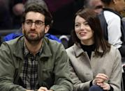 "<p>Stone's meet-cute with her <em>SNL </em>writer and director boyfriend of <a href=""https://www.elle.com/culture/celebrities/a13091752/emma-stone-is-reportedly-dating-dave-mccary/"" rel=""nofollow noopener"" target=""_blank"" data-ylk=""slk:two years"" class=""link rapid-noclick-resp"">two years</a> came when McCary directed her in a December 2016 sketch. Since then, the two have kept mostly quiet on their burgeoning relationship. However, January 2019 brought their public debut as a couple at the <a href=""https://www.elle.com/culture/celebrities/a26060361/emma-stone-dave-mccary-sag-awards-2019/"" rel=""nofollow noopener"" target=""_blank"" data-ylk=""slk:SAG Awards"" class=""link rapid-noclick-resp"">SAG Awards</a> and in December 2019 they <a href=""https://www.elle.com/culture/celebrities/a30127662/emma-stone-engaged-dave-mccary-ring-photo/"" rel=""nofollow noopener"" target=""_blank"" data-ylk=""slk:announced their engagement"" class=""link rapid-noclick-resp"">announced their engagement</a> on Instagram.</p>"