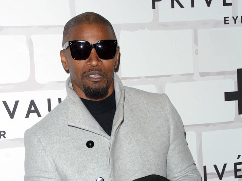 e1150fd340 Jamie Foxx celebrates affordable style at his Prive Revaux sunglasses store  opening