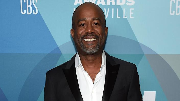 """Darius Rucker said the 'stigma' of 'racism' in country music is 'changing drastically.' <span class=""""copyright"""">Photo by John Shearer/ACMA2020/Getty Images for ACM</span>"""