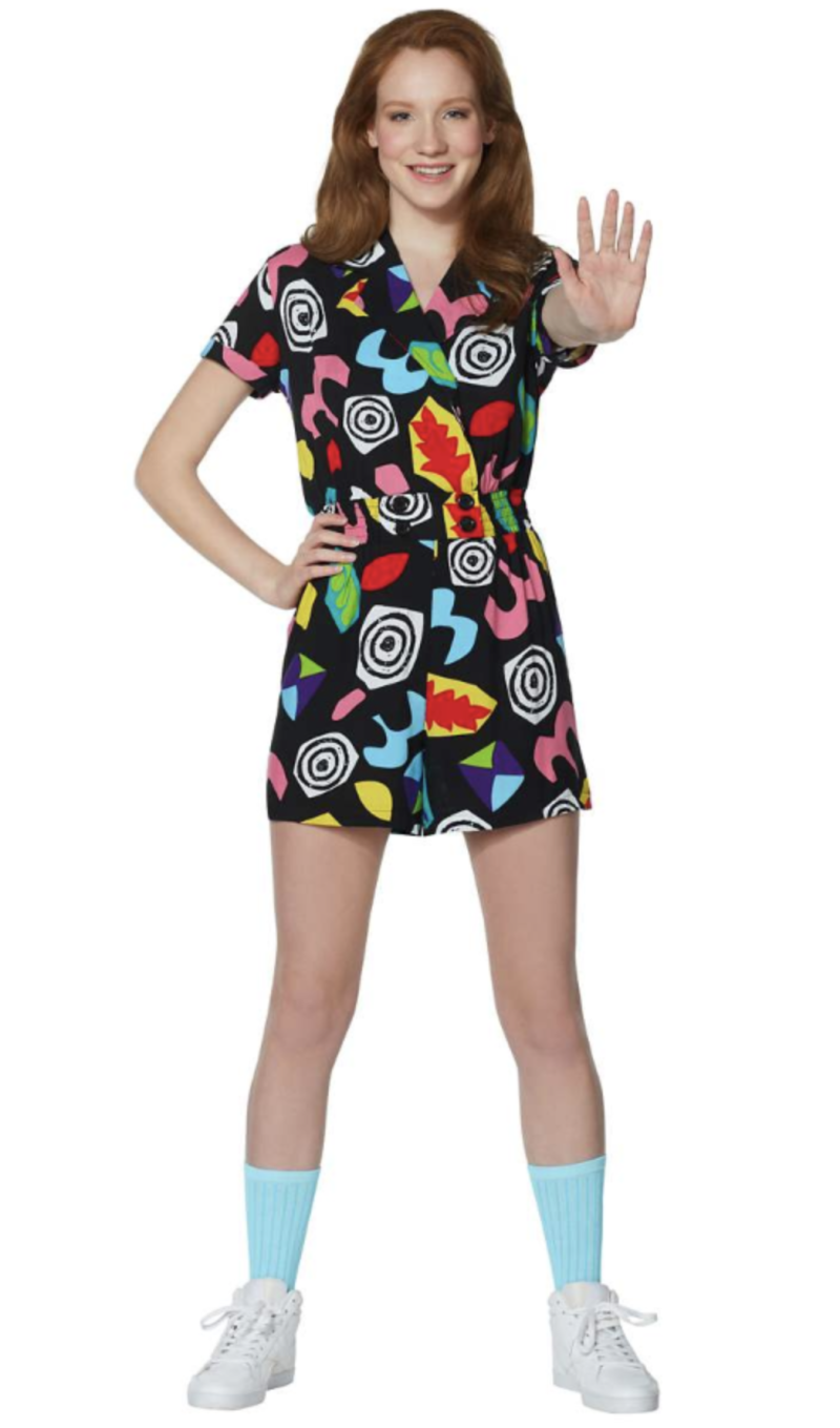 """Stranger Things"" Eleven Geometric Romper (Photo: Spirit Halloween)"