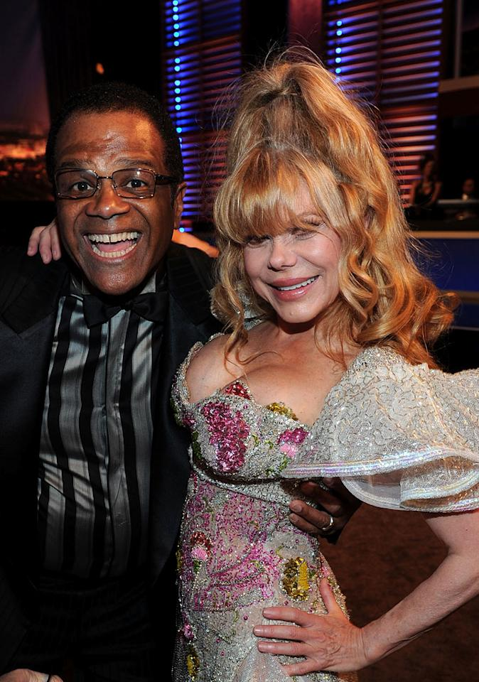 "Ted Lange and Charo (""The Love Boat"") at the <a href=""/the-8th-annual-tv-land-awards/show/46258"">8th Annual TV Land Awards</a> at Sony Studios on April 17, 2010 in Los Angeles, California. The show is set to air Sunday, 4/25 at 9pm on TV Land."