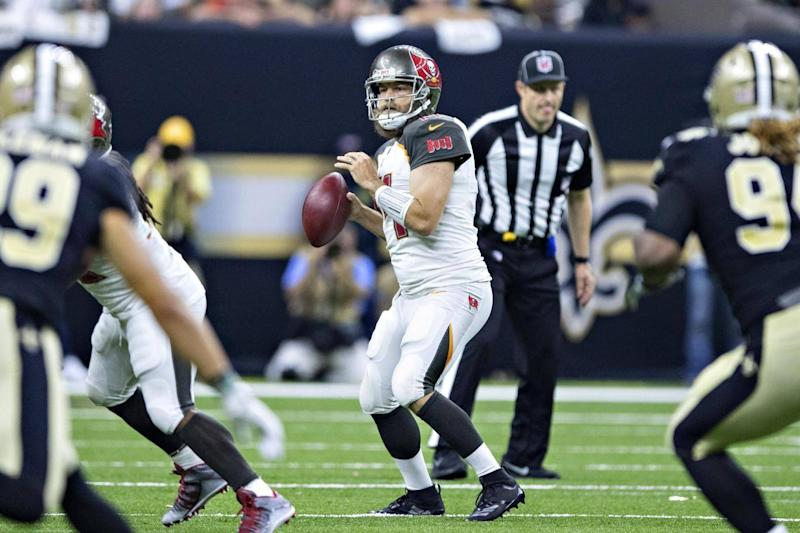 Ryan Fitzpatrick sliced and diced the Saints then the Eagles (Getty Images)