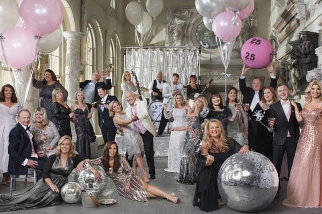 Winners pose for Vanity Fair-style shoot to mark 25 years of National Lottery