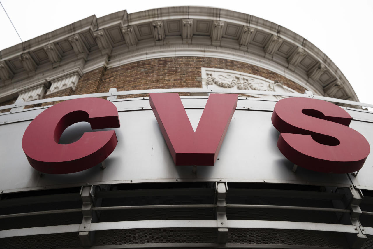 <p> FILE - This Oct. 21, 2016, file photo shows a CVS drugstore and pharmacy location in Philadelphia. CVS Health is making prescription deliveries available from its stores nationwide, as retailers continue to adjust to a growing threat from the online giant Amazon. (AP Photo/Matt Rourke, File) </p>