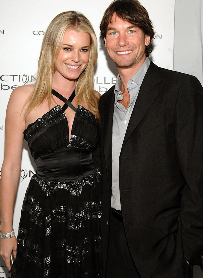 """Stand by me"" Jerry O'Connell knows wife Rebecca Romijn will always be at his side. John Sciulli/<a href=""http://www.wireimage.com"" target=""new"">WireImage.com</a> - March 18, 2007"