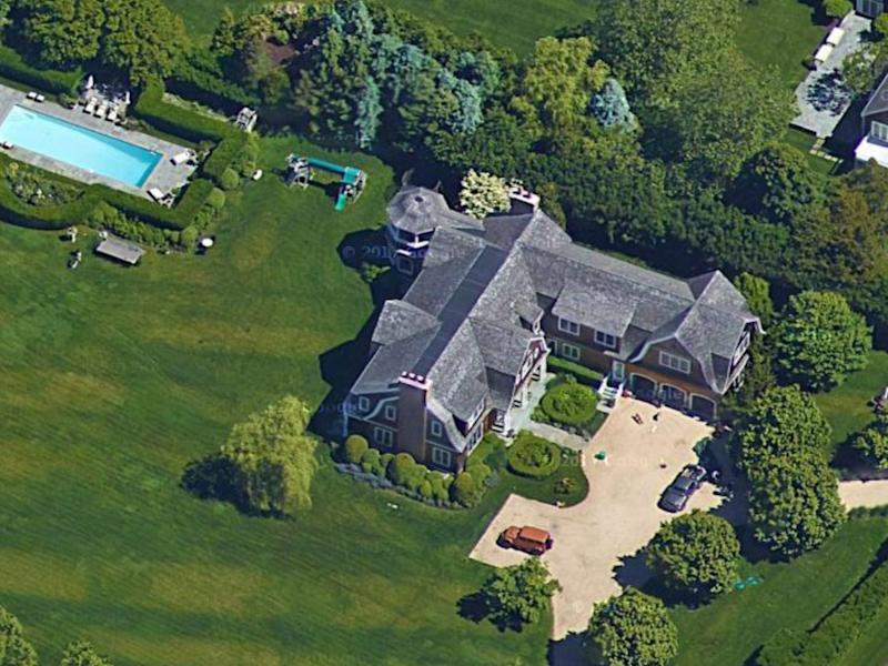 Lopez's home in Water Mill, New York.